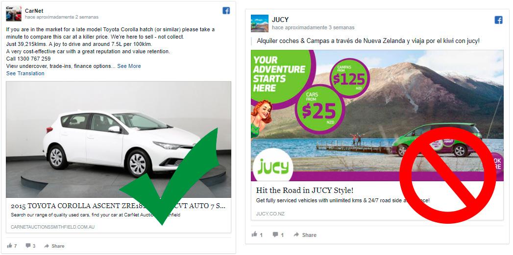 8 Tips para crear las mejores imágenes para Facebook Ads