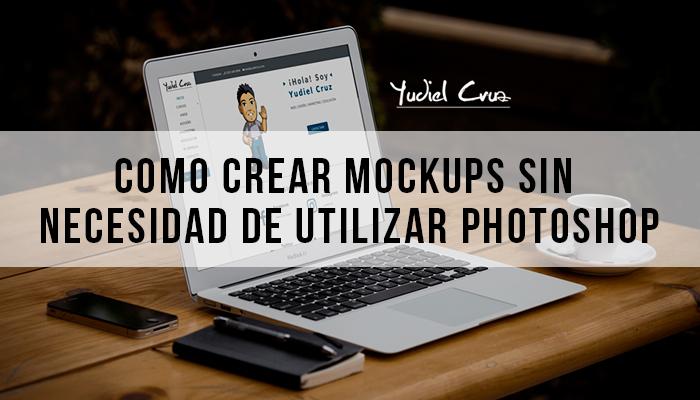 Crear Mockups